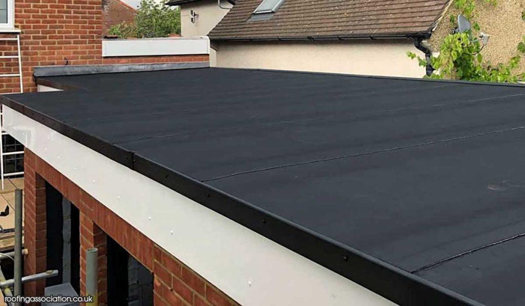 EPDM Garage Roof