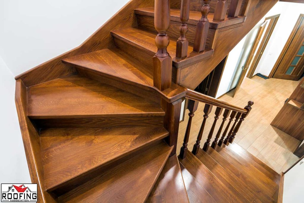 Stairs to access a new loft
